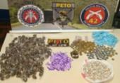 Adolescente é apreendido com 740 porções de drogas | Foto: Divulgação | SSP-BA
