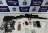 Homem é preso em Vitória da Conquista com granada e drogas | Foto: Divulgação | SSP-BA