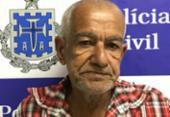 Idoso que matou esposa na frente dos filhos é preso em Milagres | Foto: Divulgação| Policia Civil