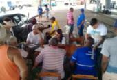 Profissionais do Samu prestam atendimento voluntário a caminhoneiros | Foto: Cidadão Repórter | Via WhatsApp