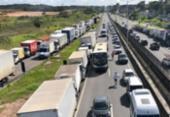 Caminhoneiros negam acordo e mantêm bloqueios nas rodovias da Bahia | Foto: Margarida Neide | Ag. A TARDE