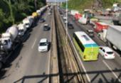 Caminhoneiros mantêm bloqueios nas rodovias mesmo após acordo | Foto: Margarida Neide | Ag. A TARDE