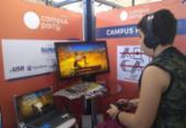 Exposição de games domina Área Open no último dia da CPBA | Foto: