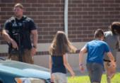 Dois feridos em ataque a tiros a escola dos EUA; suspeito está sob custódia | Foto: Kevin Moloney l Getty Images l AFP