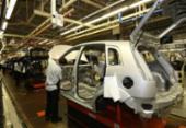 Linhas de produção de veículos estão paradas | Foto: