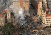 Bombeiros encerram buscas em prédio que desabou em São Paulo | Foto: Rovena Rosa | Agência Brasil