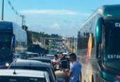 Motoristas de aplicativos fazem ato contra reajuste dos combustíveis | Foto: Cidadão Repórter | Via WhatsApp