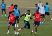 Seleção faz treino com torcida e tumulto na entrada da Granja Comary | Foto: Fernando Frazão l Agência Brasil