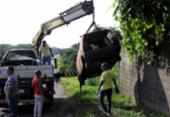 Operação alcança a remoção de 327 sucatas em Salvador | Foto: Adilton Venegeroles l Ag. A TARDE