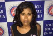 Mulher suspeita de tráfico é presa em Paulo Afonso | Foto: Divulgação | SSP-BA