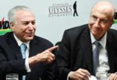 Michel Temer desiste da reeleição e anuncia apoio a Henrique Meirelles | Foto: Evaristo Sá | AFP
