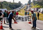 'Uso da força vai gerar resistência', afirmam caminhoneiros | Miguel Schincariol | AFP Photo
