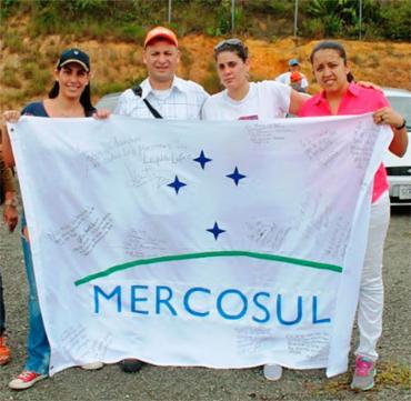 Bandeira abaixo-assinado será levada para Roraima - Foto: Divulgação