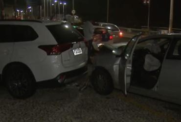 Mulher é levada a delegacia após se envolver em acidente com vítima | Reprodução | TV Bahia
