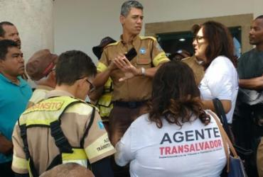 Agentes de trânsito protestam contra agressões e querem usar arma não letal | Luciano Sena | Divulgação