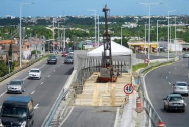 Estrada do Coco é bloqueada parcialmente para realização de obras | Divulgação