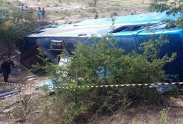 Acidente com ônibus de turismo deixa 2 mortos e 30 feridos | Reprodução | TV Sergipe