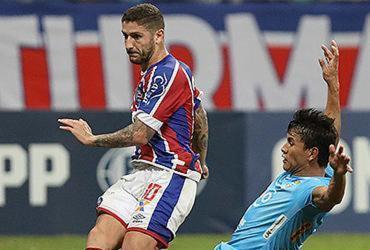 Bahia goleia o Blooming e se classifica na Copa Sul-Americana | Adilton Venegeroles l Ag. A TARDE