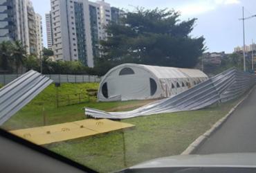 Manifestação contra BRT termina em vandalismo   Reprodução