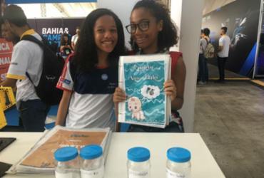 Adolescentes desenvolvem projetos para evitar o desperdício de água | Lhays Feliciano | Ag. A TARDE