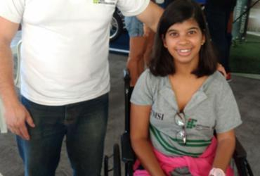 Acesso para cadeirantes e deficientes físicos deixa a desejar na Campus Party | Fagna Santos | Ag. A TARDE