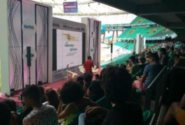 Palco STEAM aborda sobre a troca de experiências através do software livre | Keyla Pereira | Ag. A Tarde