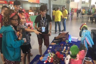 Jovens ganham espaço para empreender na Campus Party | Edielle Carvalho l Ag. A Tarde