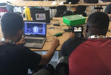 Estudantes aprendem a criar os próprios jogos | Edielle Carvalho l Ag. A Tarde