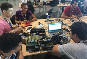 Estudantes da UFRB participam de competição de robótica na CPBA | Edielle Carvalho l Ag. A Tarde