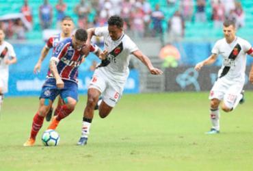 Confira as imagens do jogo entre Bahia x Vasco pelo Brasileirão |