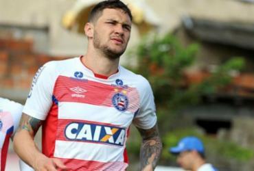 Zagueiro Tiago pode ser relacionado para jogo contra o Palmeiras | Felipe Oliveira | EC Bahia