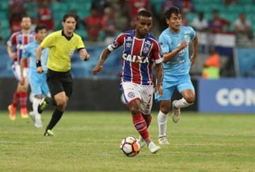 Confira as imagens de Bahia x Blooming pela Copa Sul-Americana |