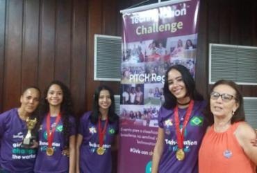 Estudantes de Itabuna conquistam etapa regional do Technovation Challenge Brazil
