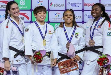 Maria Suelen é ouro e Mayra Aguiar fica com prata no Mundial | Gabriela Sabau