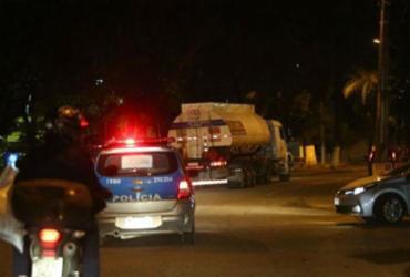 Forças de Segurança no Rio realizaram 103 escoltas de caminhões desde quinta |