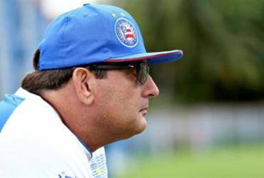 Após novo revés, Guto Ferreira diz não temer demissão | Felipe Oliveira | EC Bahia | Divulgação