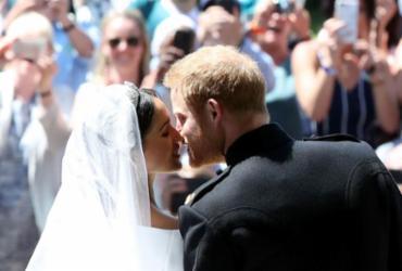 Príncipe Harry e Meghan Markle são declarados marido e mulher por arcebispo | Danny Lawson | AFP