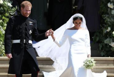 Quebrando expectativas, Meghan Markle se casa usando marca francesa |