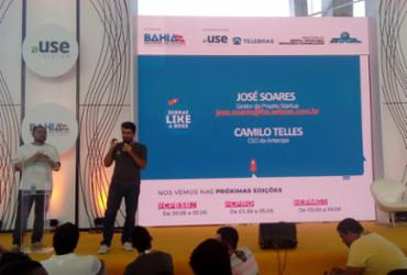 Palestra com dicas para tirar sua ideia do papel e montar Startup foi sucesso na área Open | Fagna Santos - Ag - A Tarde