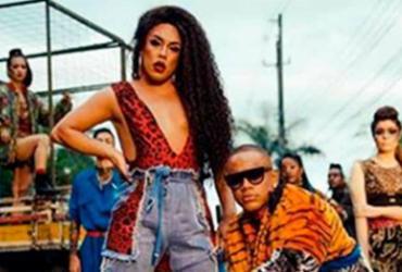 Léo Santana grava clipe em parceria com a drag queen Gloria Groove | Reprodução | Instagram