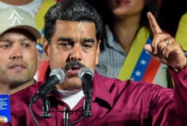 Maduro é reeleito na Venezuela em eleição questionada pela oposição   Juan Barreto   AFP