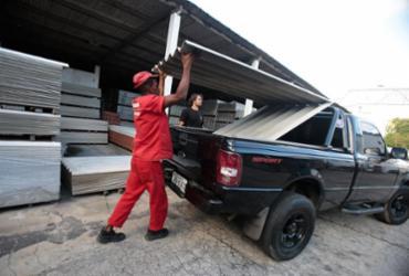 Mão de obra e frete impactam nas vendas de materiais de construção | Alessandra Lori l Ag. A TARDE