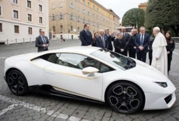 Lamborghini do papa é leiloada por R$ 3,2 milhões | Divulgação