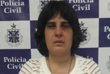 Mulher que se passava por psicóloga é presa em Amargosa   Divulgação   SSP-BA