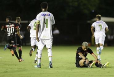 Vitória não sai do zero com Sampaio Corrêa e dá adeus à Copa do Nordeste | Adilton Venegeroles l Ag. A TARDE
