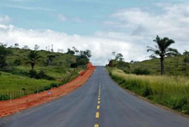 Rodovia recuperada é entregue à população de Nova Canaã