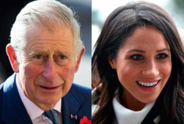 Pai de Harry, Príncipe Charles levará Meghan Markle até o altar | AFP