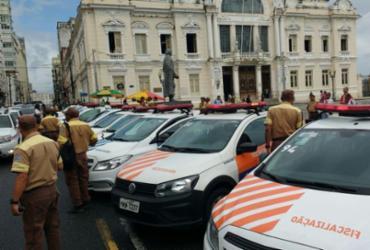 Agentes de trânsito fazem novo protesto contra agressões em Salvador | Divulgação