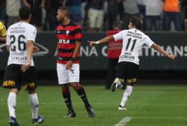 Vitória não resiste ao Corinthians fora de casa e é eliminado da Copa do Brasil | Alex Silva l Estadão Conteúdo