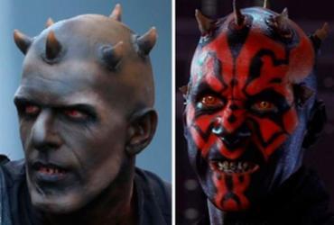 Satanás de novela da TV Record é comparado a vilão de 'Star Wars'   Reprodução
